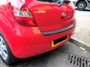 Colour coded parking sensors