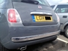 Rear colour coded parking sensors (Using our mobile service)
