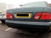 Colour coded parking sensors (Mobile fit)