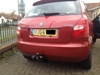Whitter tow bar and colour coded parking sensors