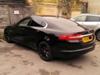 Jaguar XF for window tint. Limo black 5%
