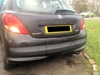 4 rear eye parking sensors